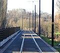 Travaux de la branche vers Vieux-Condé de la ligne B du tramway de Valenciennes en décembre 2013 (292).JPG