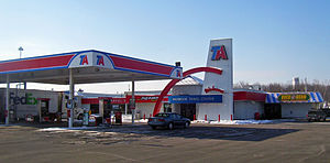 TravelCenters of America - Image: Travel America truck stop, Maybrook, NY