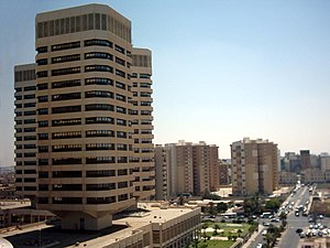The That-El-Emad towers built by Daewoo Corpor...