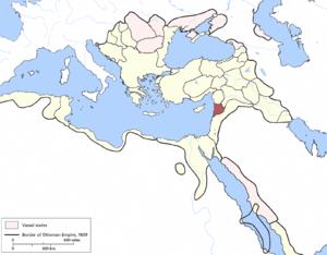 Tripoli Eyalet - Image: Tripoli Eyalet, Ottoman Empire (1609)