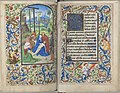 Trivulzio book of hours - KW SMC 1 - folios 139v (left) and 140r (right).jpg