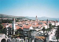 Trogirs historiske bykerne