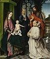 Tronende Maria en Christus, met Sint-Hiëronymus, Johannes de Doper en een kartuizer monnik Rijksmuseum SK-A-2569.jpeg