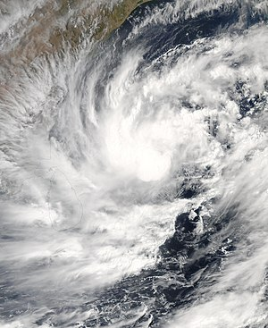 2003 North Indian Ocean cyclone season - Image: Tropical Cyclone 01B 2003