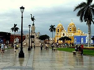 Plaza de Armas of Trujillo (Peru) - Plaza de armas of Trujillo