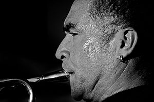 Embouchure - The embouchure of a trumpeter.