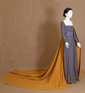 Yannis Tsarouchis - Maria Callas' theatrical costume by Yiannis Tsarouchis (1958, collection of Peloponnesian Folklore Foundation, Nauplio)