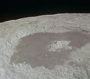 Tsiolkovskiy (crater) - Image: Tsiolkovskiy crater aerial