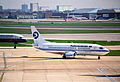 Turkmenistan Airlines Boeing 737-300; EZ-A002@LHR;13.04.1996 (4905907679).jpg