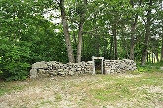 Poundmaster - Historic Stone Animal Pound in Turner, Maine