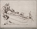 Two anatomists dissecting a corpse, surrounded by birds, a c Wellcome V0010464.jpg