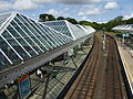 Tynemouth Metro station, July 2015 (01).JPG