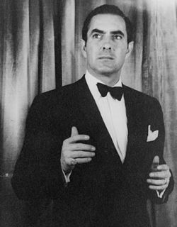 Tyrone Power, 1953.