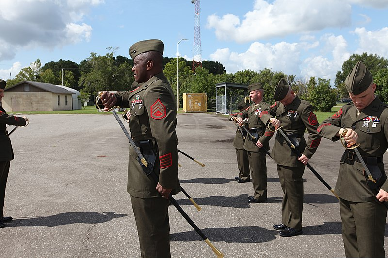 File:U. S. Marine Corps Staff Non-Commissioned Officers ...