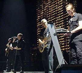 în concert la Madison Square Garden (octombrie 2005)