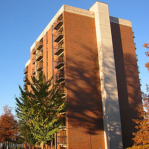 Denman Hall Dormitory at the University of Alabama at Birmingham