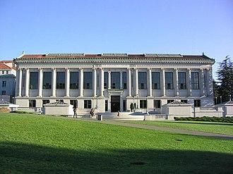 University of California Libraries - Doe Memorial Library, Berkeley