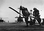UH-1E Hueys on USS Iwo Jima (LPH-2) in January 1967.jpg