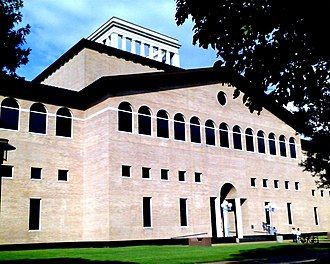 Hines College of Architecture - The UH College of Architecture building designed by Philip Johnson