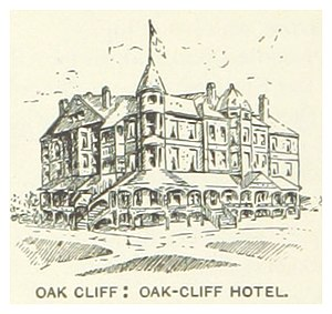 Oak Cliff - The Hotel (c. 1890)