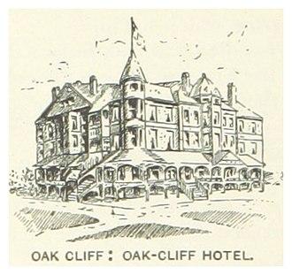 Oak Cliff - The Hotel (c. 1890)