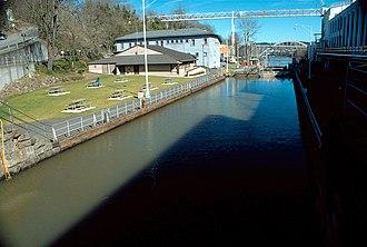 Willamette Falls Locks - Image: USACE Willamette Falls Locks Oregon