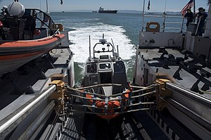 National Security Cutter - Image: USCG long range interceptor aboard Bertholf