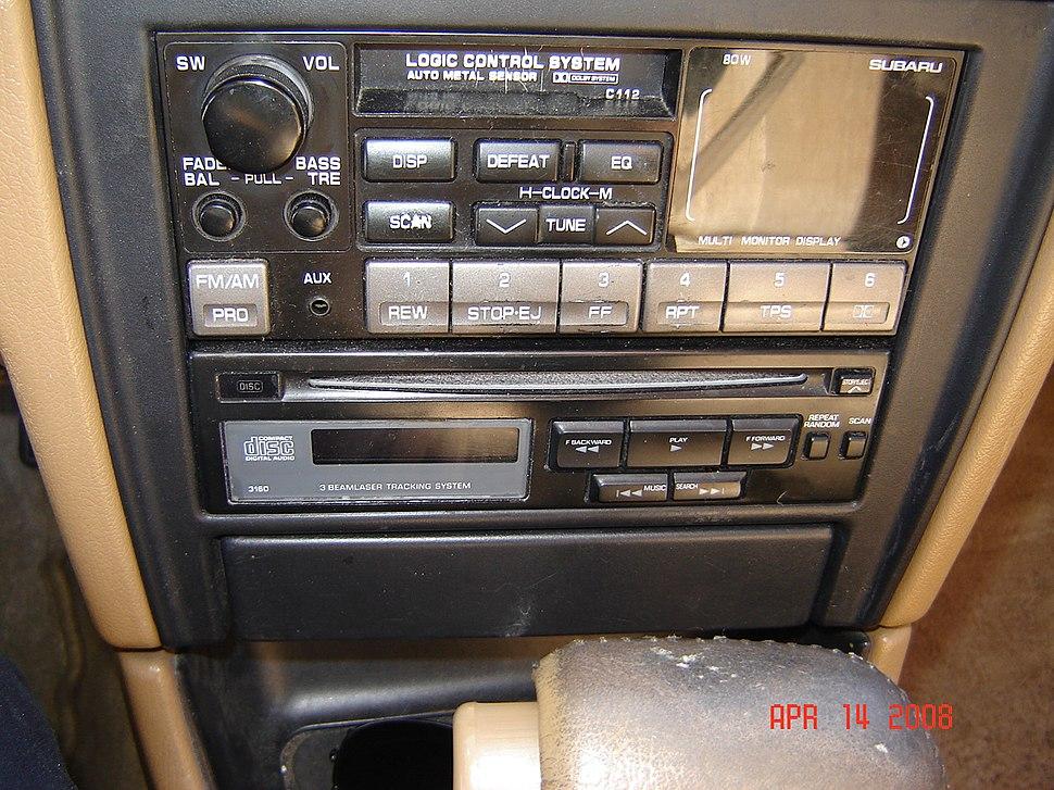 USDM 1991 Legacy LS CD Player