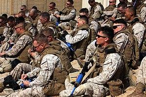 1st Battalion, 7th Marines - Marines with 1st Battalion, 7th Marine Regiment in 2010