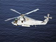 USN SH-2G over water