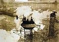 USS Arkansas (BB-33), sailors in crow's nest, January 16, 1915 (25261841205).jpg