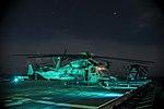 USS Bonhomme Richard (LHD-6) CH-53E night maintenance 160921-N-XK809-070.jpg