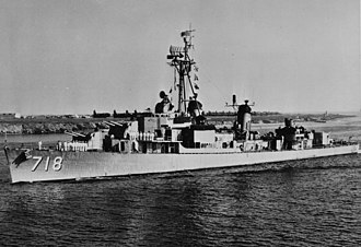 USS Hamner (DD-718) - Image: USS Hamner (DD 718) off North Island, circa in the mid 1950s