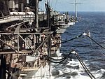 USS Hancock (CVA-19) during undway replenishment c1968.jpg