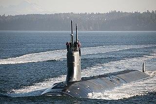 USS <i>Jimmy Carter</i> US Navy Seawolf-class submarine