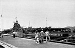 USS Leyte (CV-32) in a lock of the Panama Canal 1946.jpg