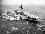 USS Mattaponi (AO-41) refuels USS Bon Homme Richard (CVA-31) in October 1963.jpg