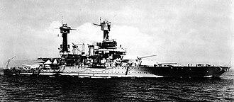 Colorado-class battleship - West Virginia in October 1935 off Hawaii
