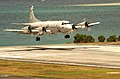 US Navy 040707-N-6932B-010 A U.S. Navy P-3C Orion approaches the landing area at Marine Corps Air Station Kaneohe, Hawaii.jpg