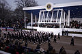 US Navy 050120-F-3231D-692 he U.S. Navy Honor Guard marches past President George W. Bush during the 2005 Presidential Inaugural Parade held in Washington D.C.jpg