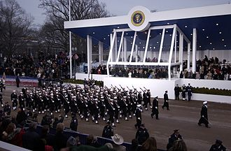 Military parade - United States Presidential Inaugural Parade held in Washington D.C.