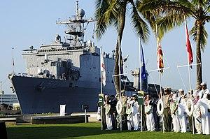 US Navy 101207-N-7498L-354 Survivors of the De...