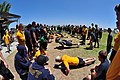 US Navy 110629-N-GG400-201 Sailors compete in a pushup contest during the Captain's Cup event.jpg