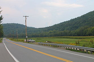 U.S. Route 220 in Pennsylvania - US Route 220 in Shrewsbury Township, Lycoming County, Pennsylvania