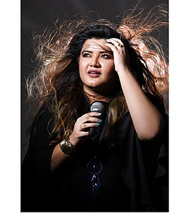 Ujjaini Mukherjee Indian singer