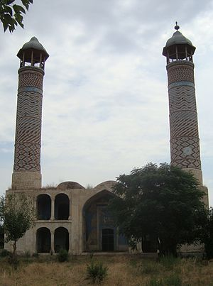 Agdam Mosque - The mosque in 2010