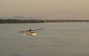 """Roraima - Rio Branco (""""White River"""") in Roraima."""