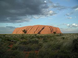 Uluru rocks o Ayers rock