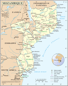 Outline of Mozambique - Wikipedia
