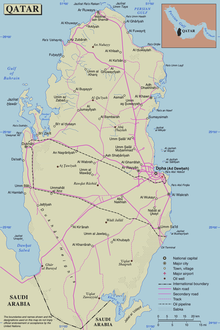 Outline of Qatar - Wikipedia on